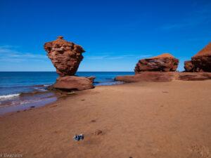 The cliffs at Atlantic coast